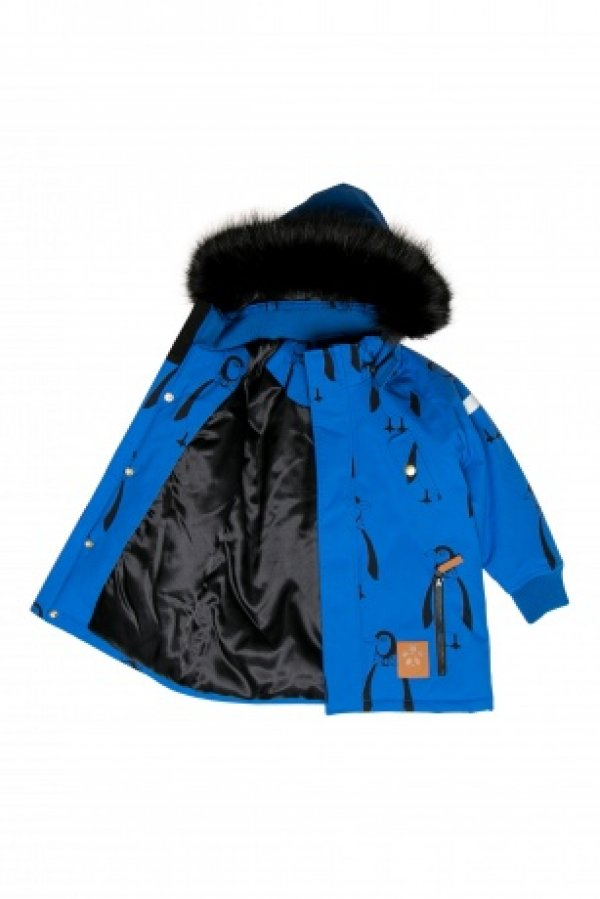 MINI RODINI PENGUIN JACKET