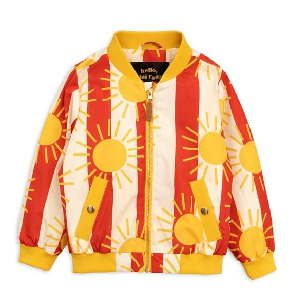 Mini Rodini baseball jacket kids tutti frutti
