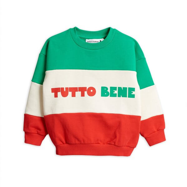 Mini Rodini kids sweater tutto bene