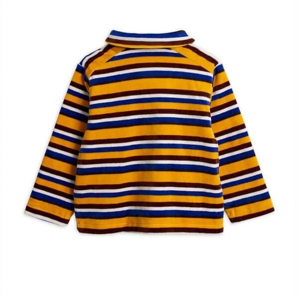 Mini rodini velour stripe jacket