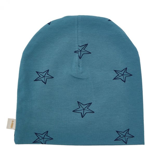 Iglo and indi hat blue stars