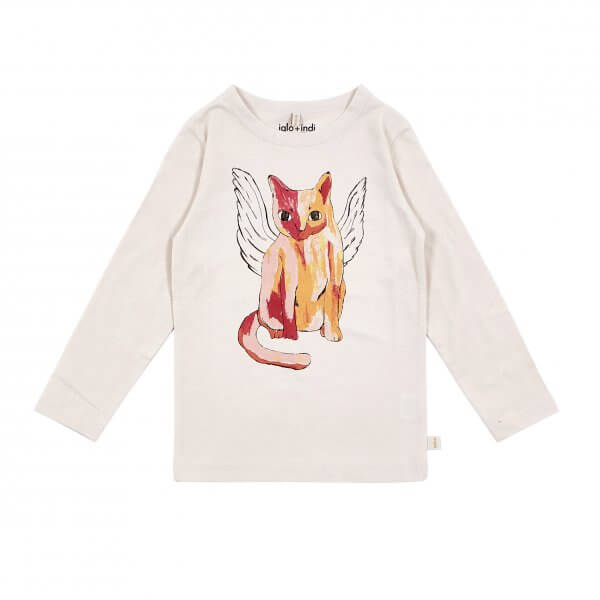 IGLO+INDI angel cat top