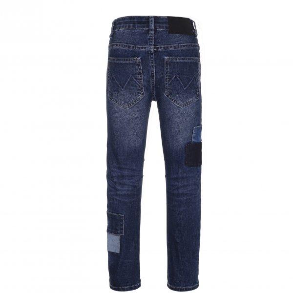 MOLO Alonso blaue Jeans regular fit  hinten