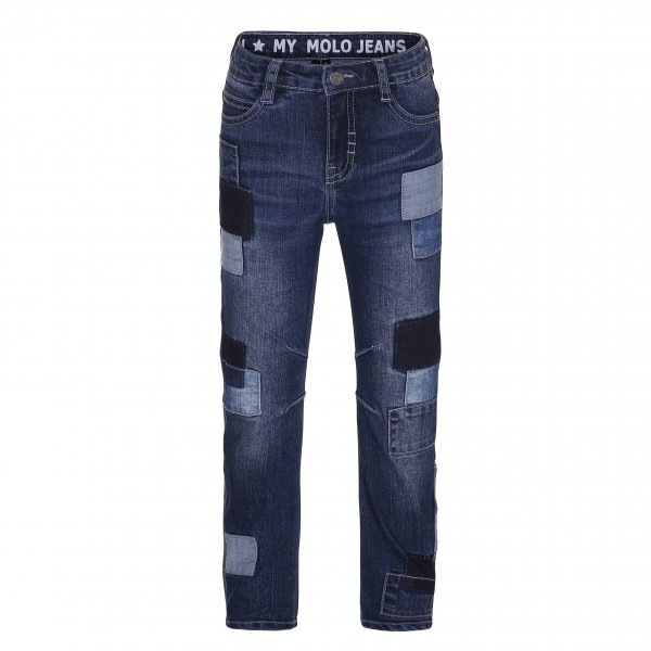MOLO Alonso blaue Jeans regular fit  vorne