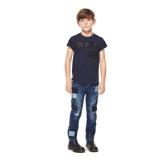 MOLO Alonso blaue Jeans regular fit Junge
