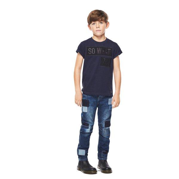 Molo navy t-shirt So what Rino