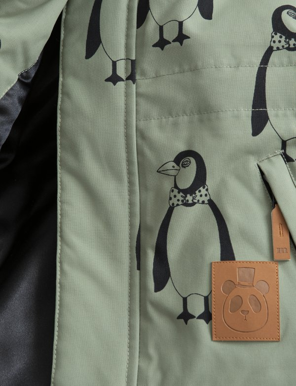MINI RODINI K2 penguin parka