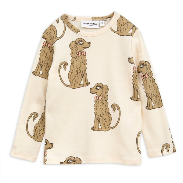 New: MINI RODINI long sleeved t-shirt Spaniel