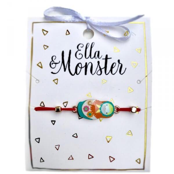 Ella and Monster bracelet, babuschka, schmuck für kinder