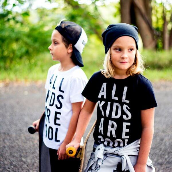 Bandit kids t-shirt schwarz all kids are cool kinder