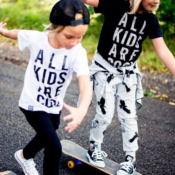 Bandit kids all kids are cool t-shirt weiß