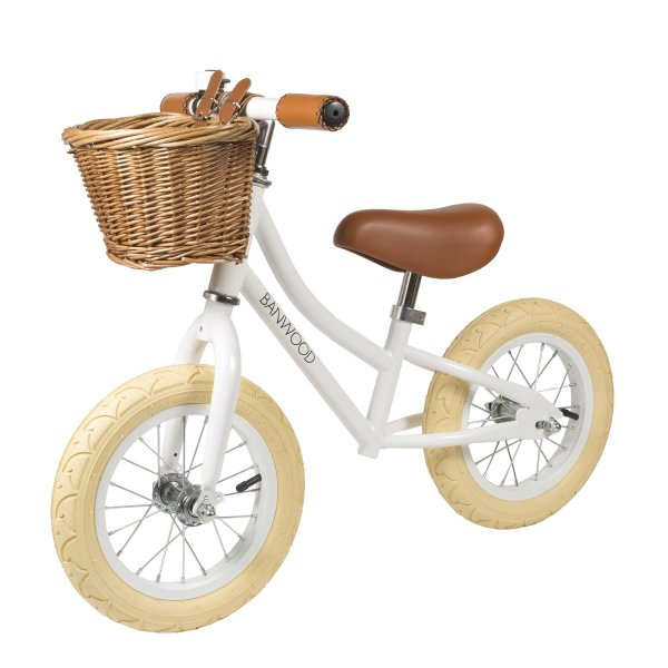 Banwood push bike first go white