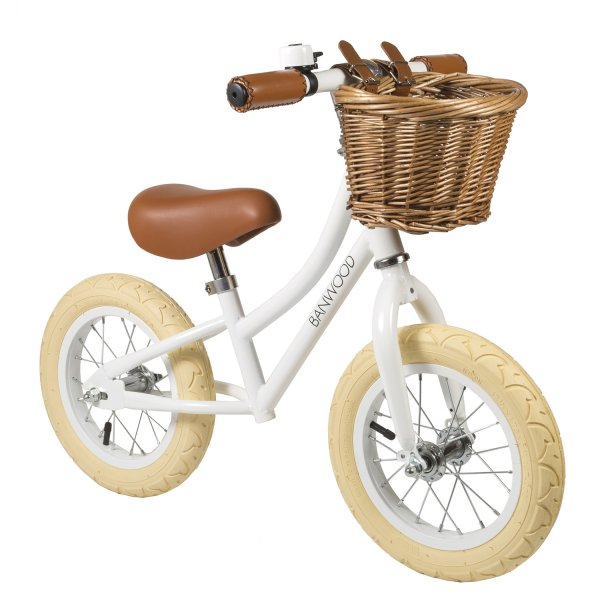 Banwood balance bike white