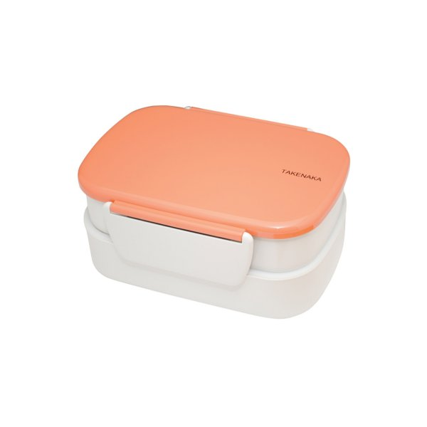 Takenaka Bentobox doppelt Koralle