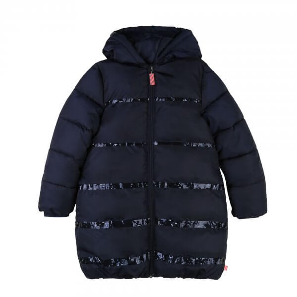 Billieblush kids navy puffer coat/jacket