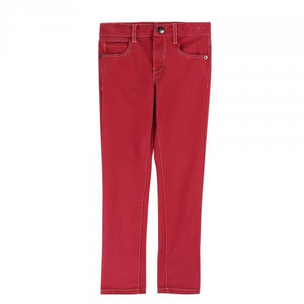 Billybandit Bordeaux rote Jeans Jungen vorne