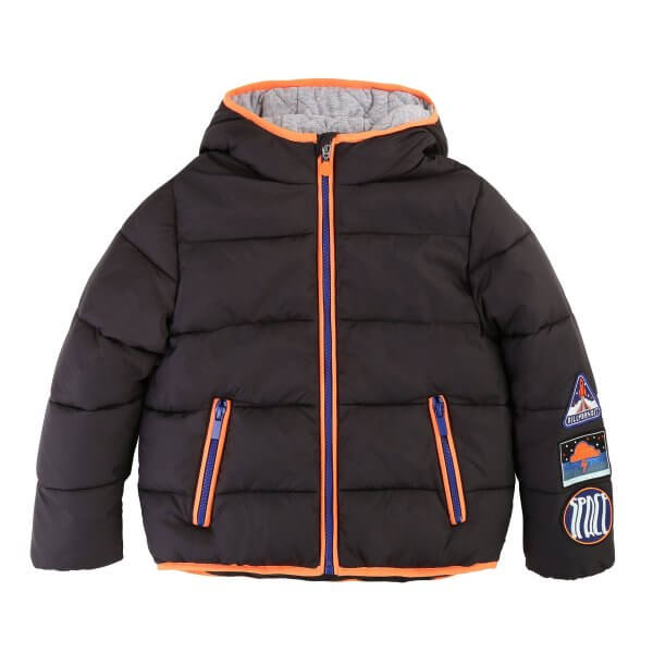 Billybandit-black-puffer-jacket-space-patches