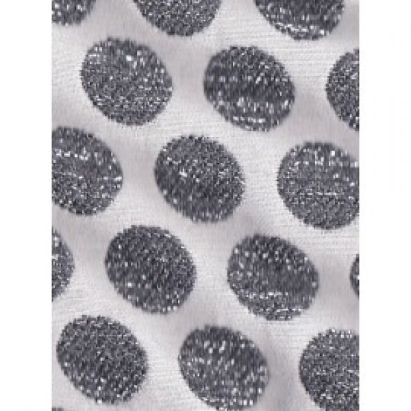 IGLO+INDI sparkling black dot skirt