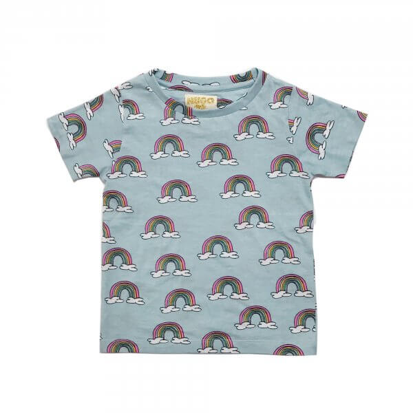 shirt neu Regenbogen Kinder von Hugo Tikki