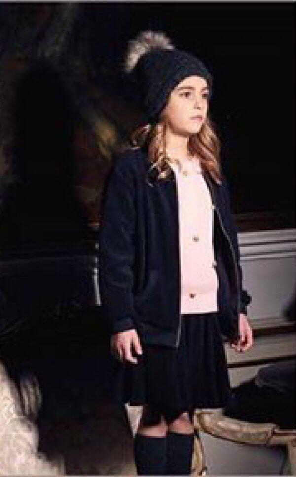 Strickkleid langer Pullover by clara dänische Kindermode