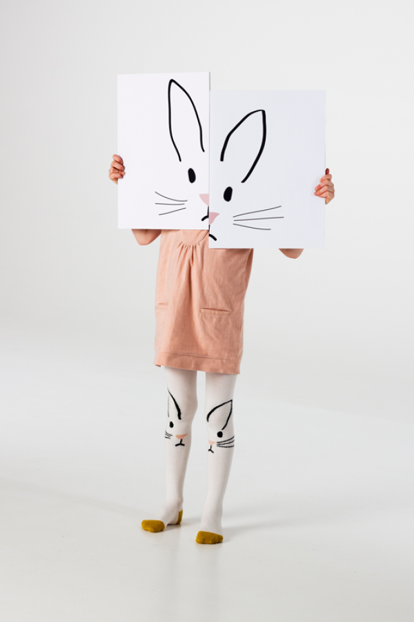 'White Rabbit' tights from UK Brand Braveling