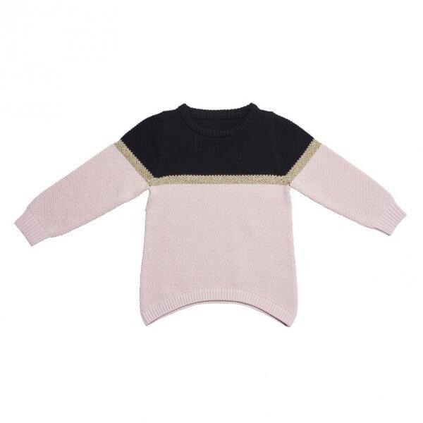 Strickkleid langer Pullover by clara