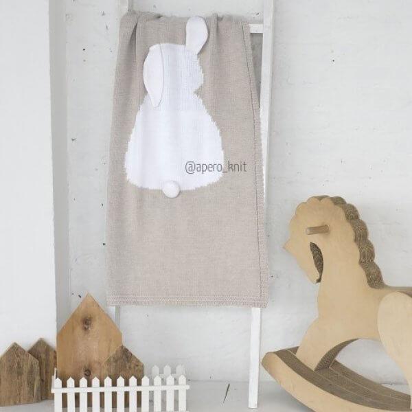 beige decke baby