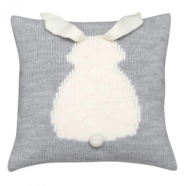 Kissen für Babys Wolle grau