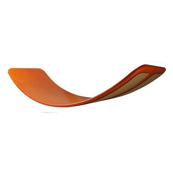 TIC TOYS Balance Board DAS.BRETT, pompejanisch-rot lackier