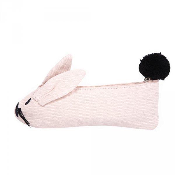 Federmäppchen-Hase-pink