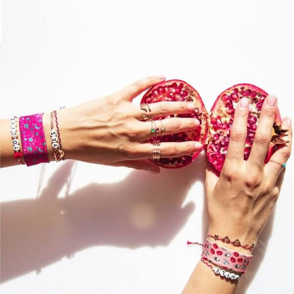 Sorbet Bracelets - Strawberry Pattern