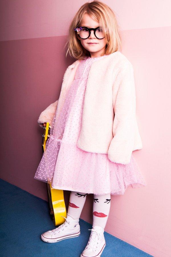 IGLO+INDI cute fake fur jacket