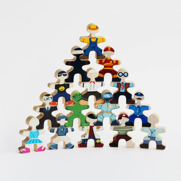 Flockmen_wooden_toy_sticker_set_ninja_policemen_knight