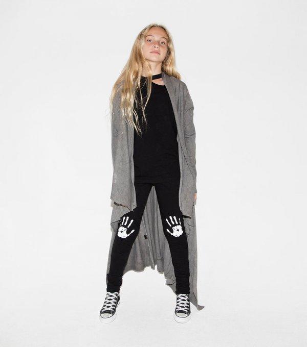 NUNUNU asymmetrical cardigan
