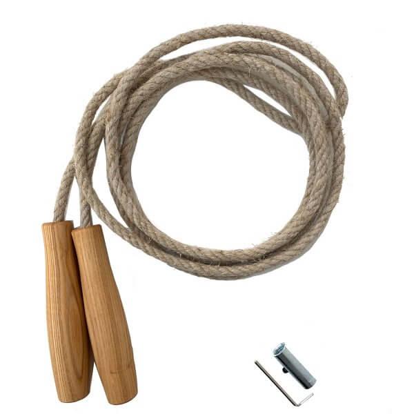 Holz-springseil-hanf