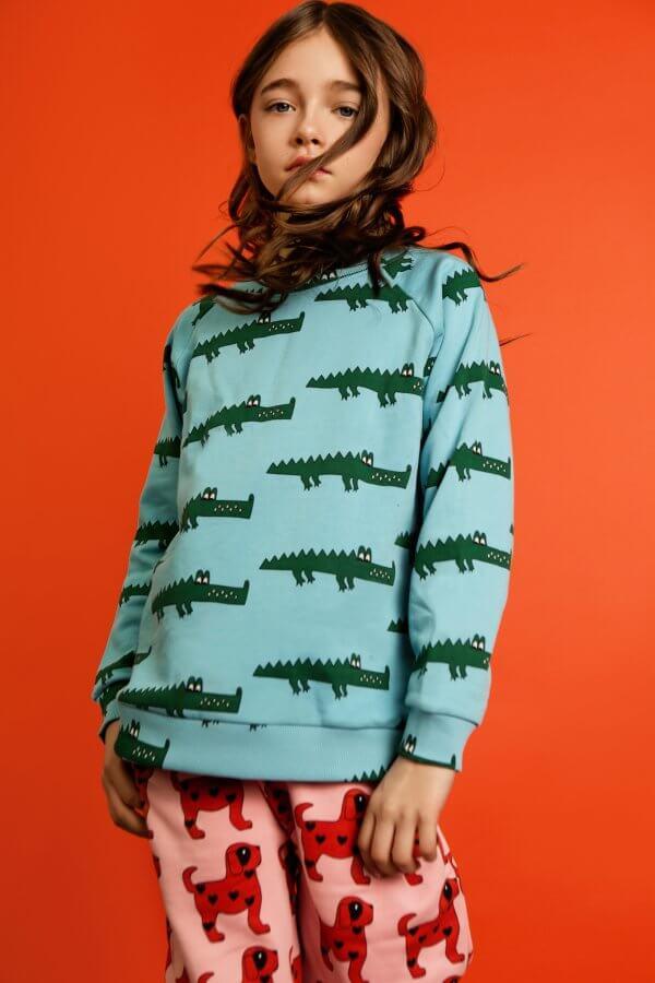 Oberteil von Hugo Loves Tiki Krokodil