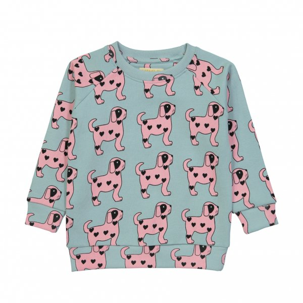 HUGO LOVES TIKI Sweatshirt Pink Dog,