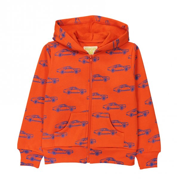 Sweatshirtjacke Autos orange hugo loves tiki
