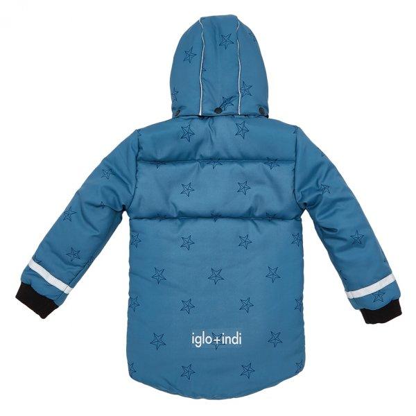 Jacke mit Sternen blau