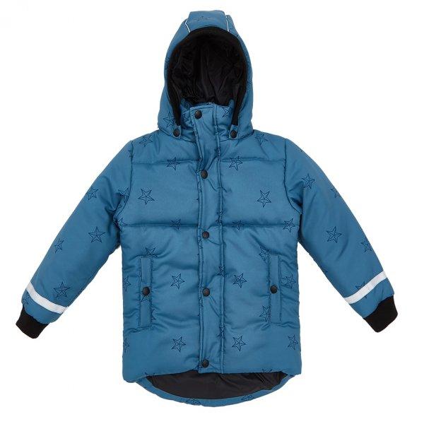 winterjacke Kinder, blau