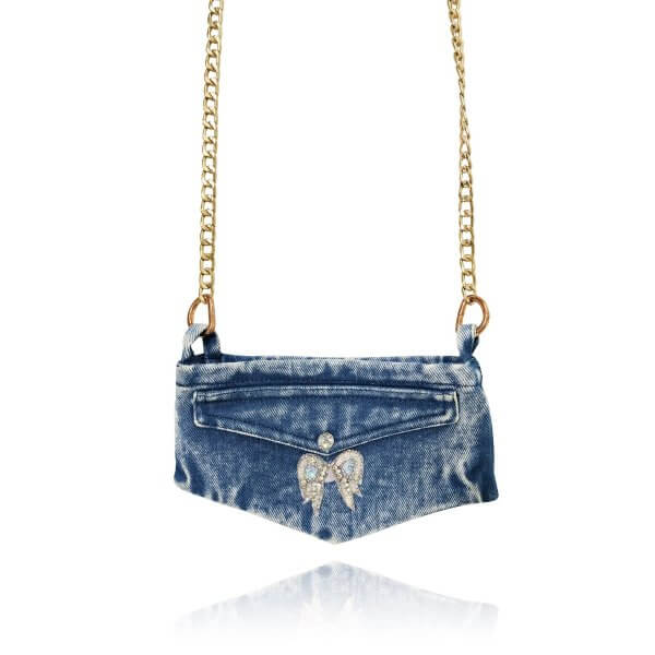 denim bag phone purse women party outfit