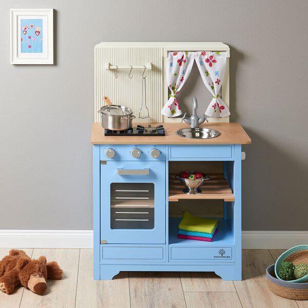Musterkind Spielküche blau
