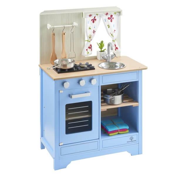 Musterkind Spielküche Lavandula Creme Blau