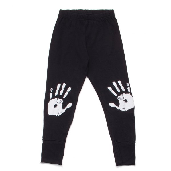 NUNUNU leggings knee print