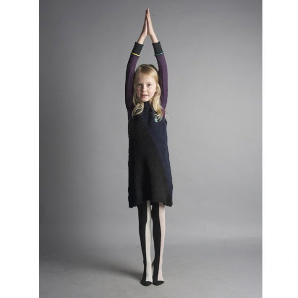 Bobo Choses Tights Vertical Multi Colour pink