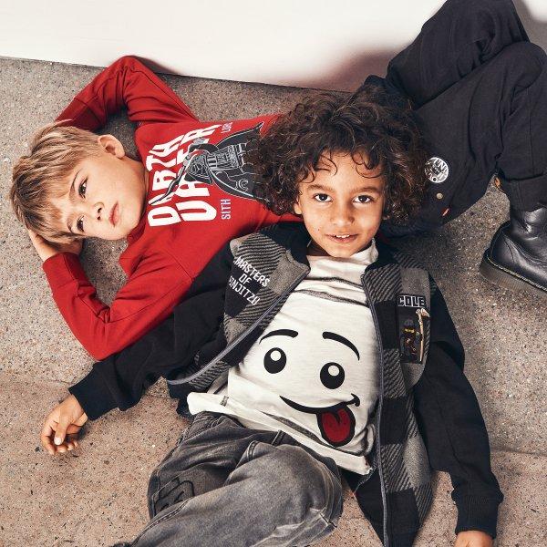 Lego weißes Kurzarmshirt Kinder Dänemark