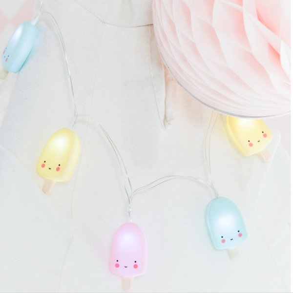 a little lovley company String lights: Popsicles