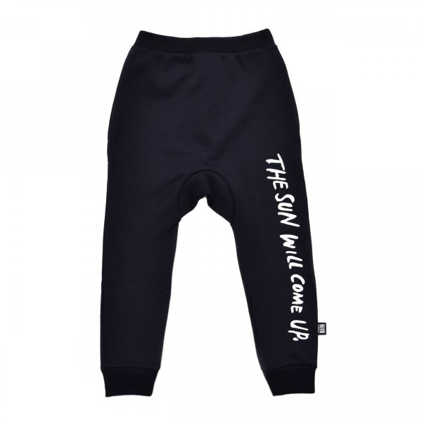 Little Man Happy sweatpants the sun will come up