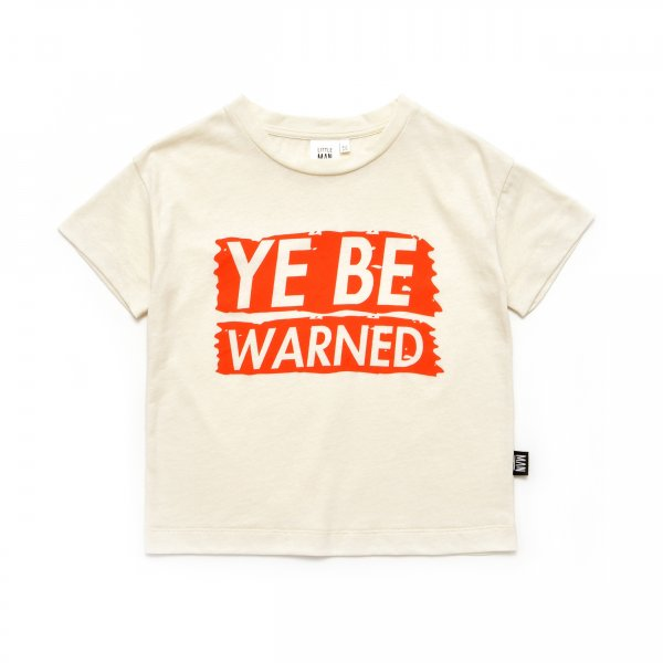 Little Man Happy T-shirt ye be warned
