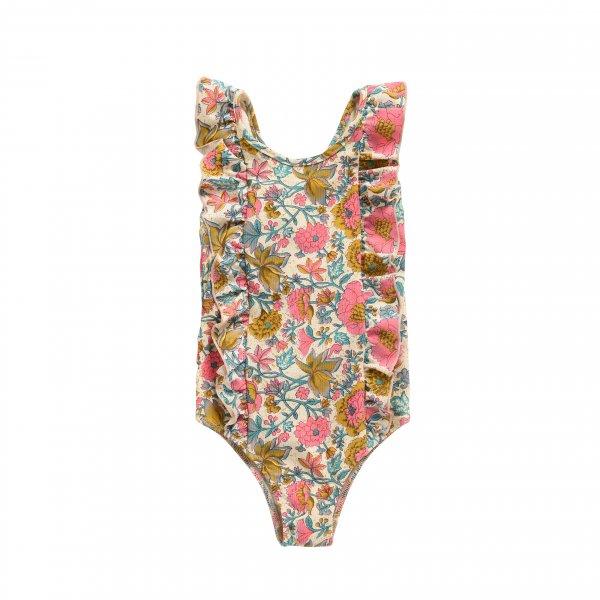 MISHA Kinder Badeanzug Blumen 10